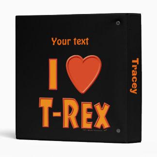 """Amo a amantes del dinosaurio de Rex del Tyrannosau Carpeta 1"""""""