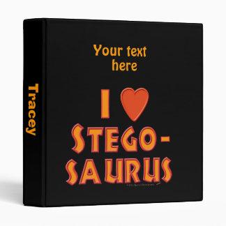 """Amo a amantes del dinosaurio del Stegosaurus Carpeta 1"""""""