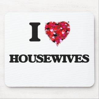Amo a amas de casa tapete de ratones