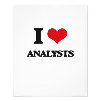 Amo a analistas tarjetones