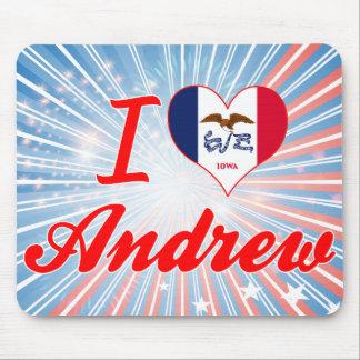 Amo a Andrew, Iowa Tapetes De Ratón