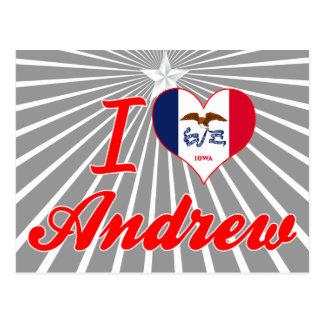 Amo a Andrew, Iowa Postal