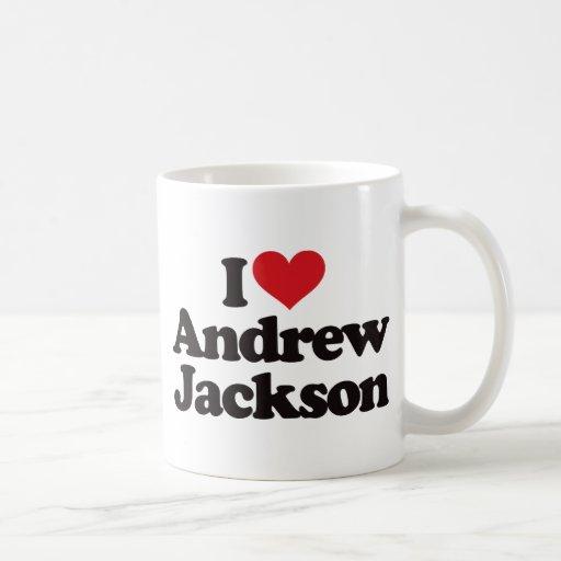 Amo a Andrew Jackson Taza