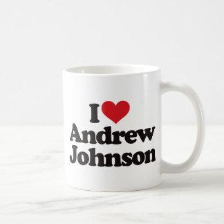 Amo a Andrew Johnson Taza