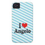 Amo a Ángel Case-Mate iPhone 4 Protector