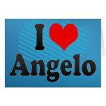 Amo a Ángel Felicitaciones