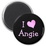 Amo a Angie Imán De Frigorifico