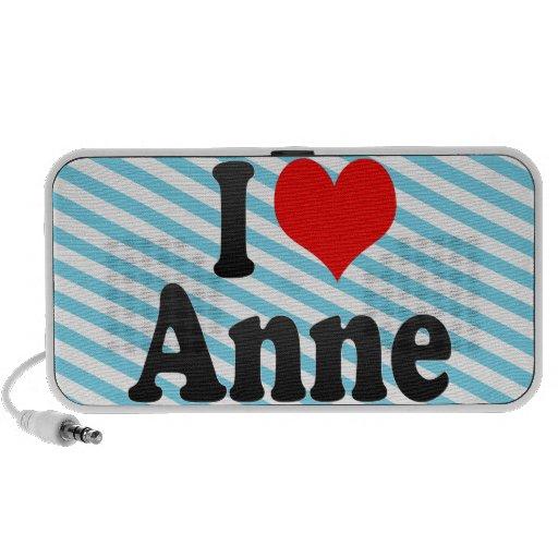 Amo a Anne Altavoz De Viajar