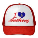 Amo a Anthony, Kansas Gorras