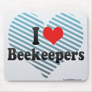 Amo a apicultores alfombrillas de raton