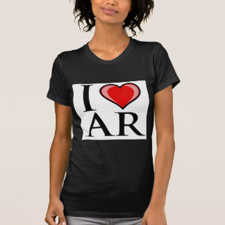 Amo a AR - Arkansas Camiseta