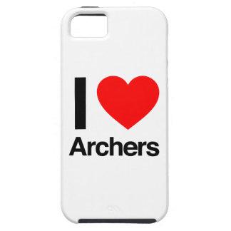 amo a archers iPhone 5 carcasas