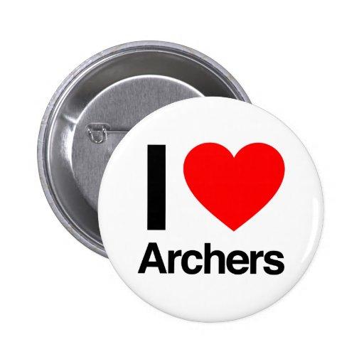 amo a archers pin