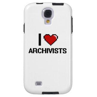 Amo a archivistas funda para galaxy s4