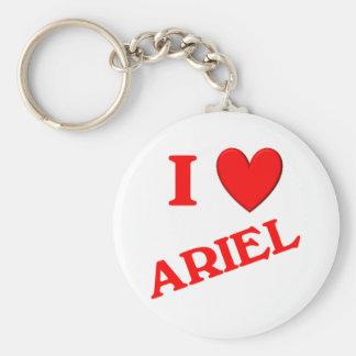 Amo a Ariel Llaveros Personalizados