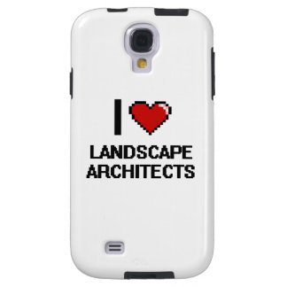 Amo a arquitectos paisajistas funda para galaxy s4