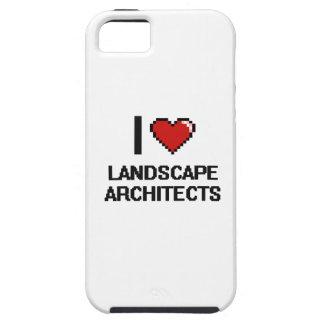 Amo a arquitectos paisajistas iPhone 5 carcasas