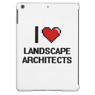 Amo a arquitectos paisajistas funda para iPad air