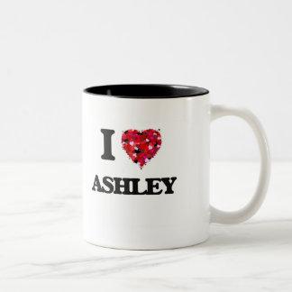 Amo a Ashley Taza Dos Tonos