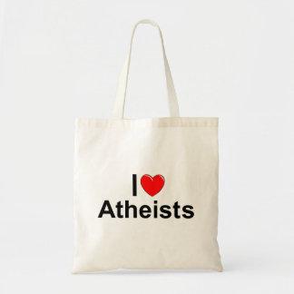 Amo a ateos (del corazón) bolsa tela barata