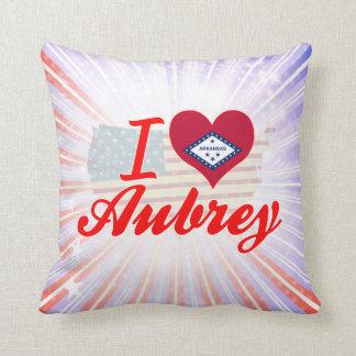 Amo a Aubrey Arkansas Cojin