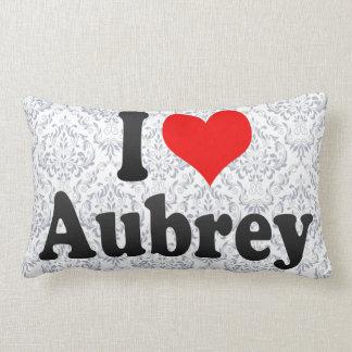 Amo a Aubrey Cojines