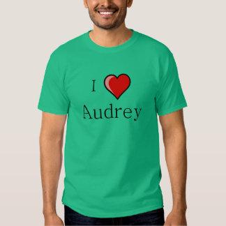 Amo a Audrey Camisas