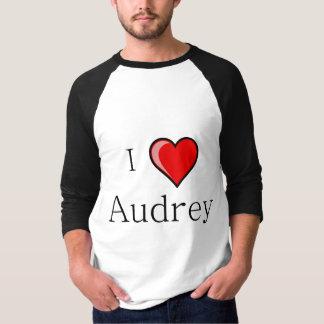 Amo a Audrey Playeras