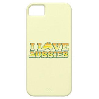 ¡Amo a australianos! Diseño de Australiana iPhone 5 Case-Mate Cárcasa