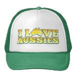 ¡Amo a australianos! Diseño de Australiana Gorro