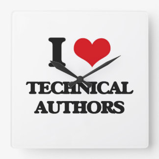 Amo a autores técnicos relojes