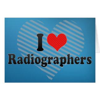Amo a ayudantes radiólogos felicitaciones
