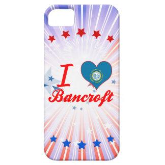 Amo a Bancroft, Dakota del Sur iPhone 5 Carcasas