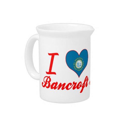 Amo a Bancroft, Dakota del Sur Jarrones