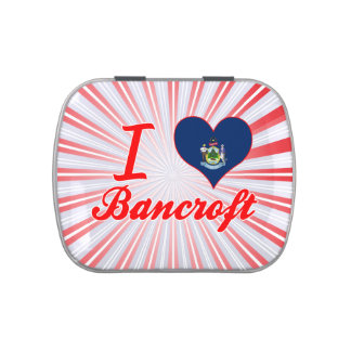 Amo a Bancroft, Maine Jarrones De Caramelos