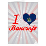 Amo a Bancroft, Maine Tarjeta