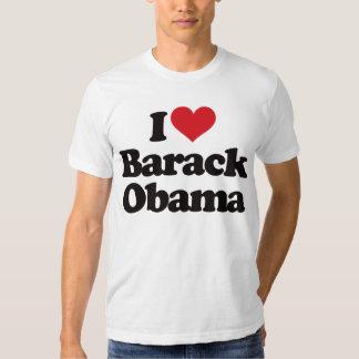 Amo a Barack Obama Playera