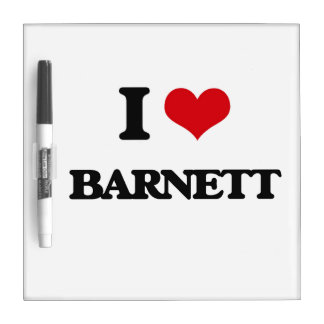 Amo a Barnett Tableros Blancos