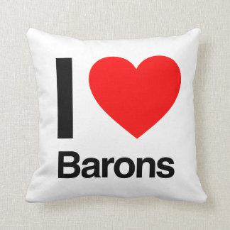 amo a barones almohada