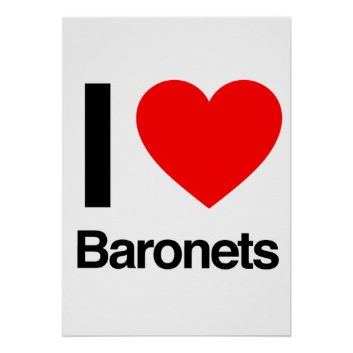 amo a baronetes poster