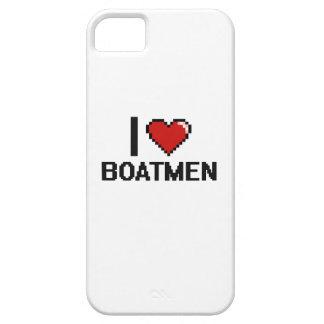 Amo a barqueros iPhone 5 Case-Mate carcasa
