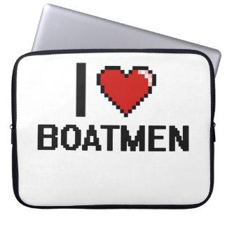 Amo a barqueros fundas computadoras
