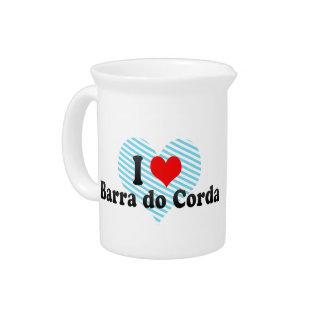 Amo a Barra hago Corda, el Brasil Jarrones