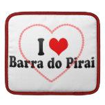 Amo a Barra hago Pirai, el Brasil Fundas Para iPads