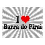 Amo a Barra hago Pirai, el Brasil Postales