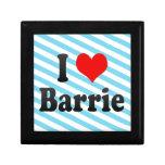 Amo a Barrie, Canadá. Amo a Barrie, Canadá Caja De Recuerdo