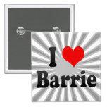 Amo a Barrie, Canadá. Amo a Barrie, Canadá Pin