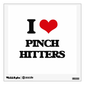 Amo a bateadores de pellizco