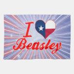 Amo a Beasley, Tejas Toallas