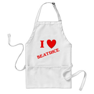 Amo a Beatriz Delantales